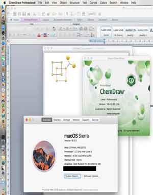 Download ChemDraw 16.0.1.4 macOS X