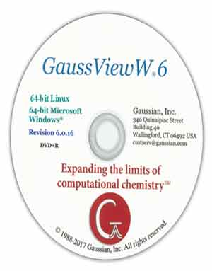 Download GaussView 6.0.16 Linux