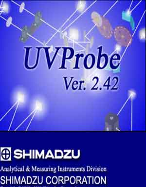 Download UVProbe 2.42 software for UV-VIS